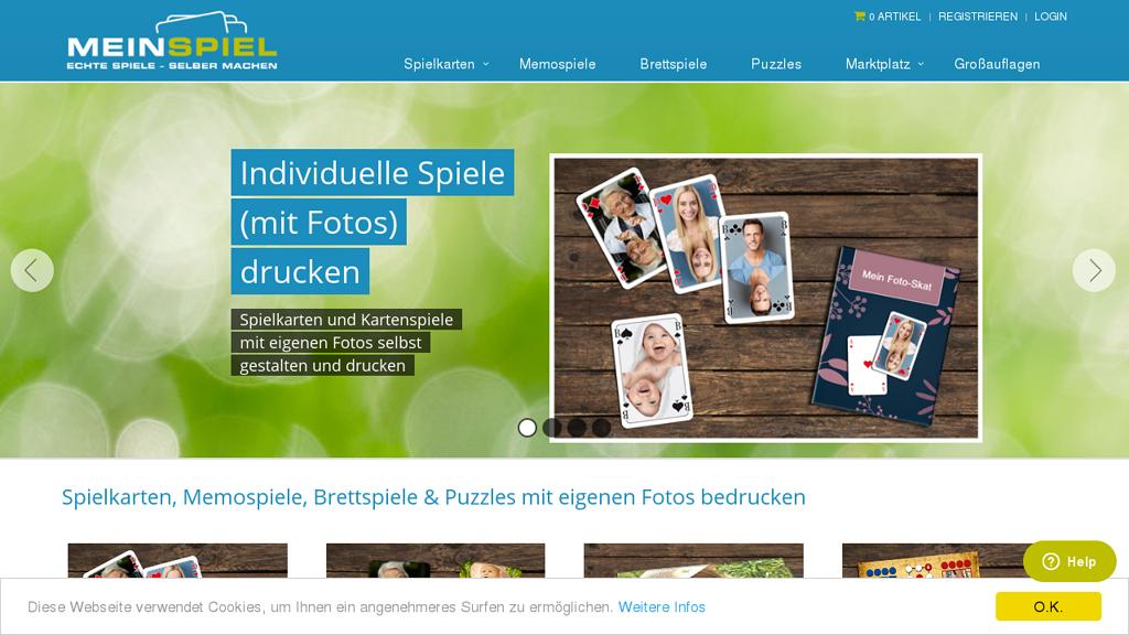 MeinSpiel Online-Shop