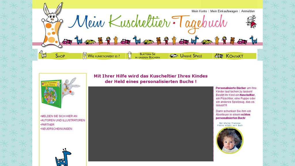 Mein Kuscheltier-Tagebuch Online-Shop