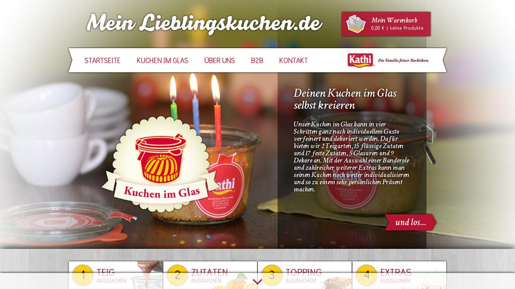 Mein Lieblingskuchen Online-Shop