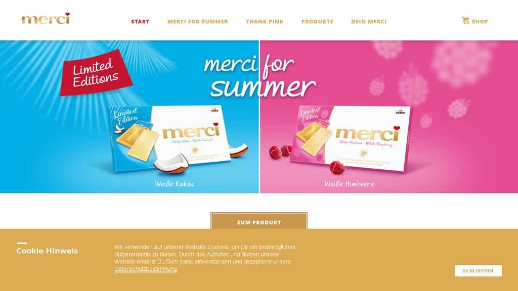 merci Online-Shop