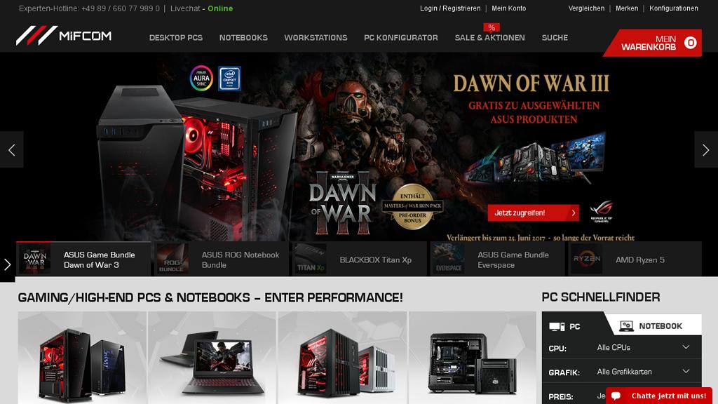 MIFcom Online-Shop