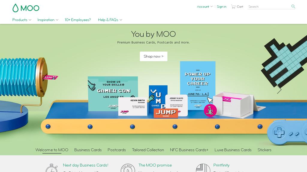 moo Online-Shop