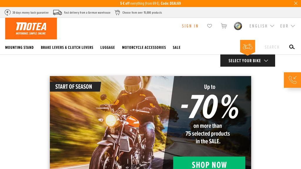 Motea Online-Shop