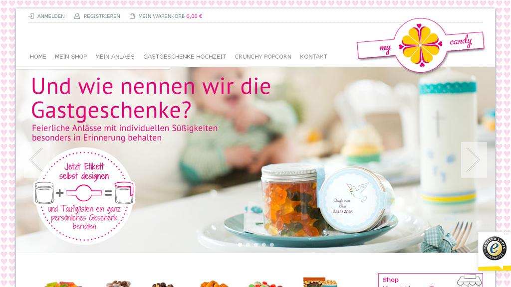 mycandy Online-Shop