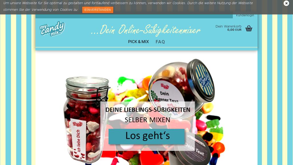 mycandymix Online-Shop