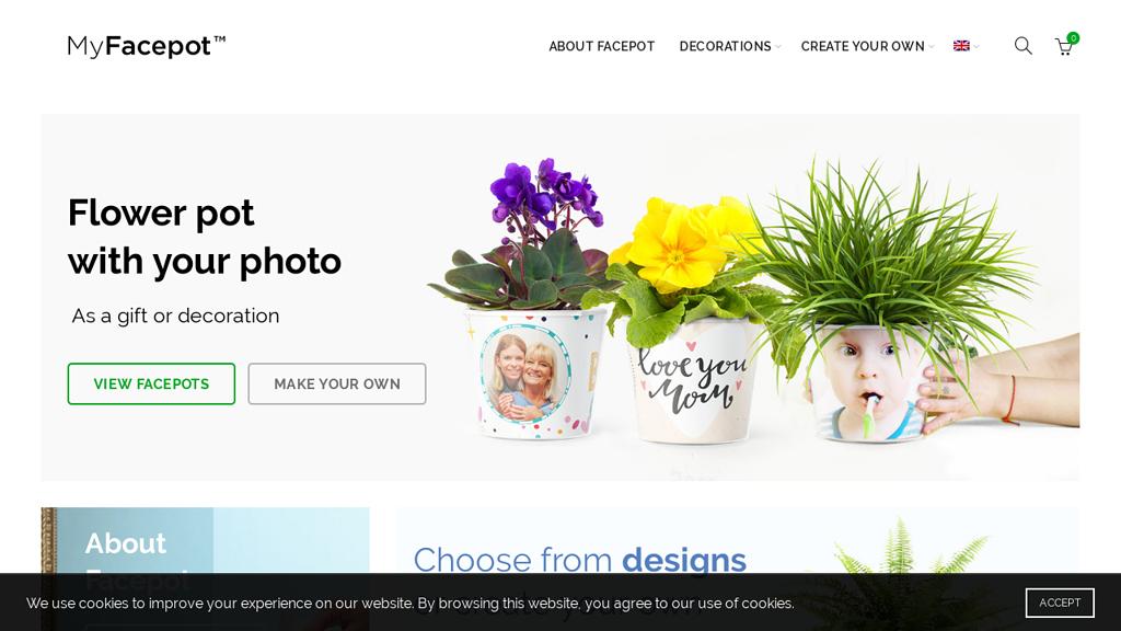 MyFacepot Online-Shop