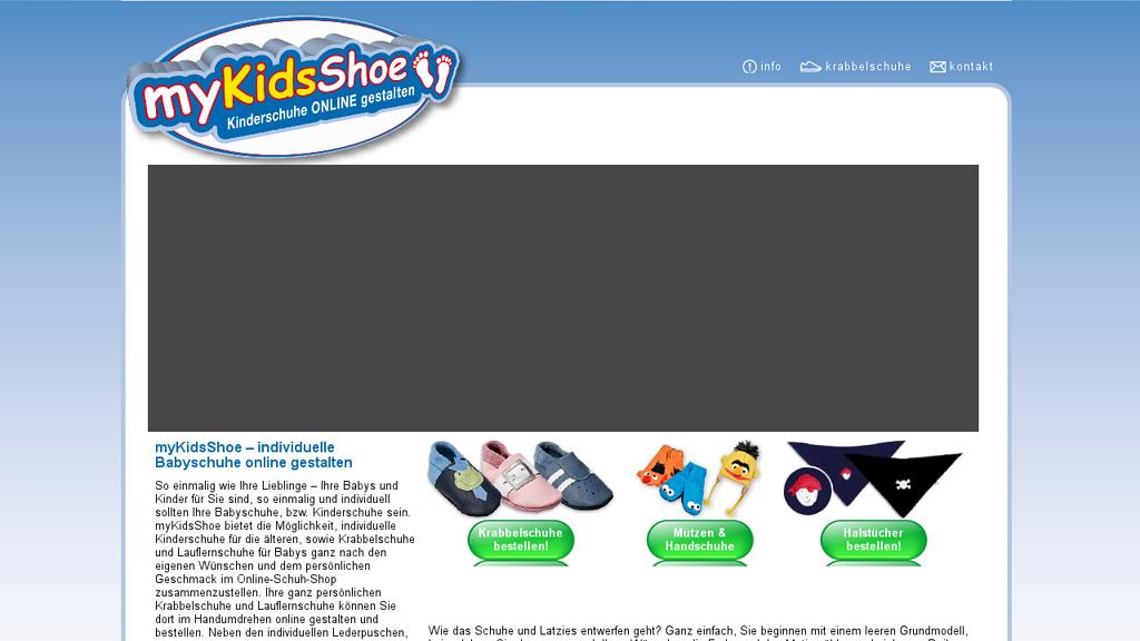 myKidsShoe Online-Shop