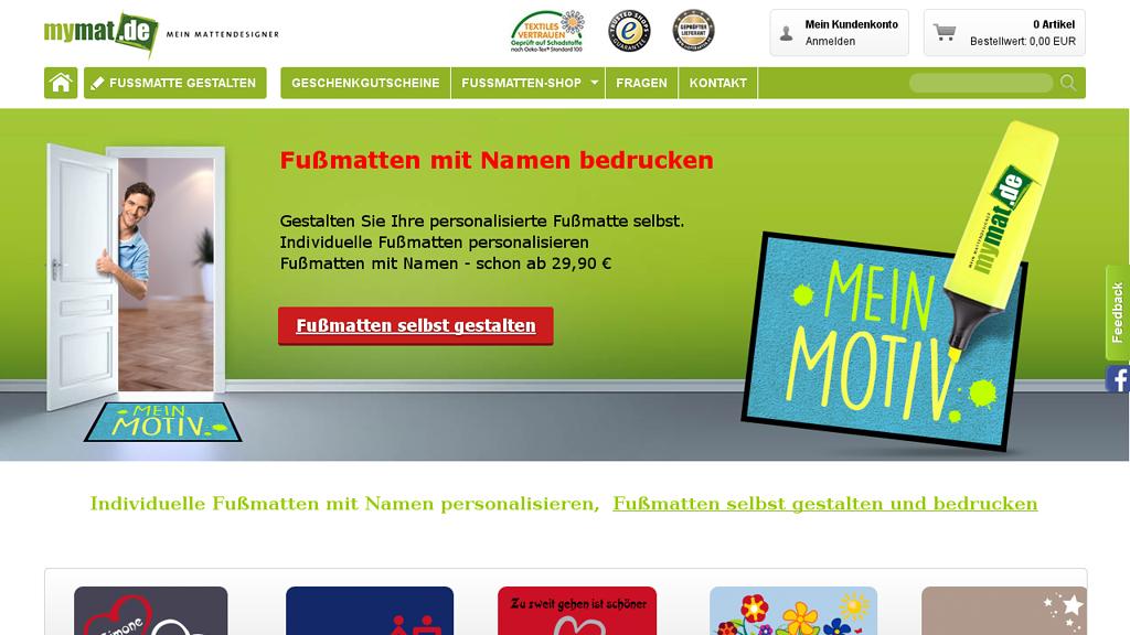 MyMat Online-Shop