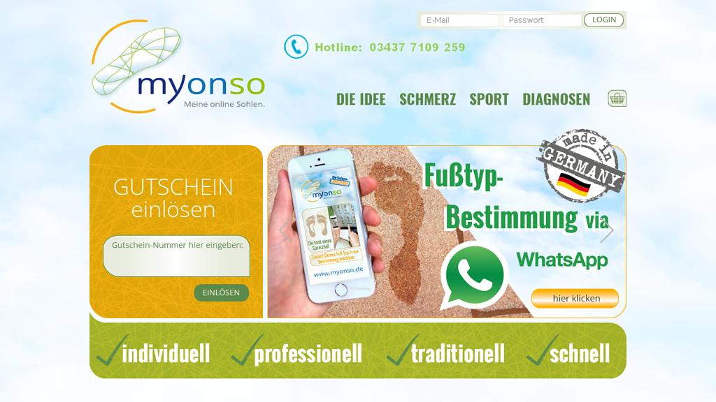 myonso Online-Shop