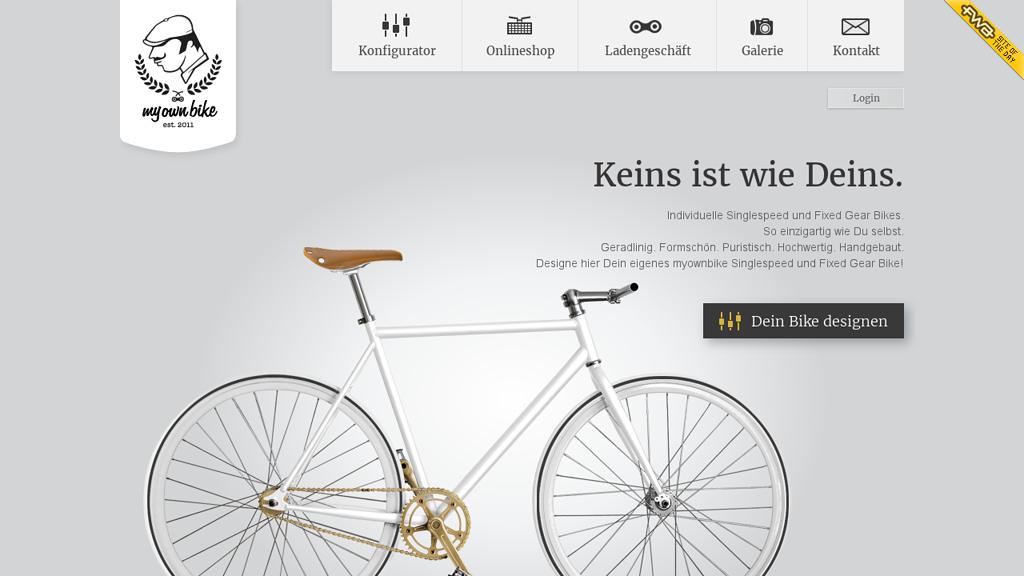 my own bike Online-Shop