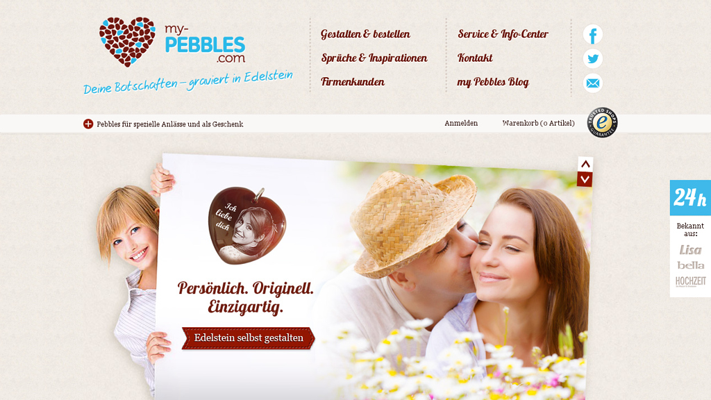 My Pebbles Online-Shop