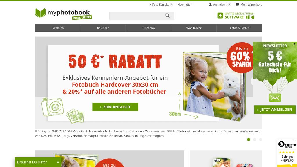 myphotobook.de Online-Shop