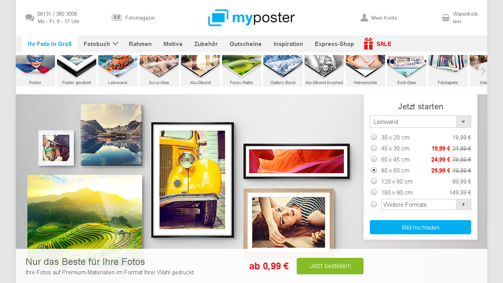 myposter Online-Shop