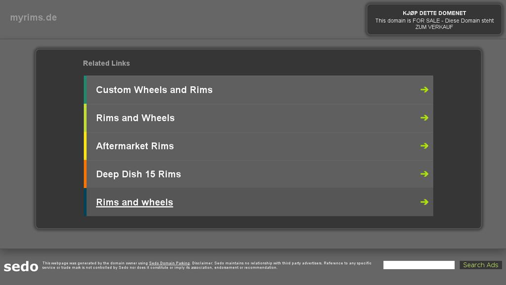 MyRims Online-Shop