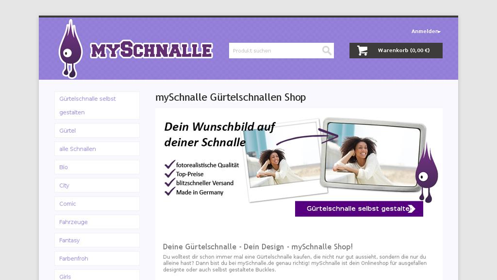 myschnalle Online-Shop