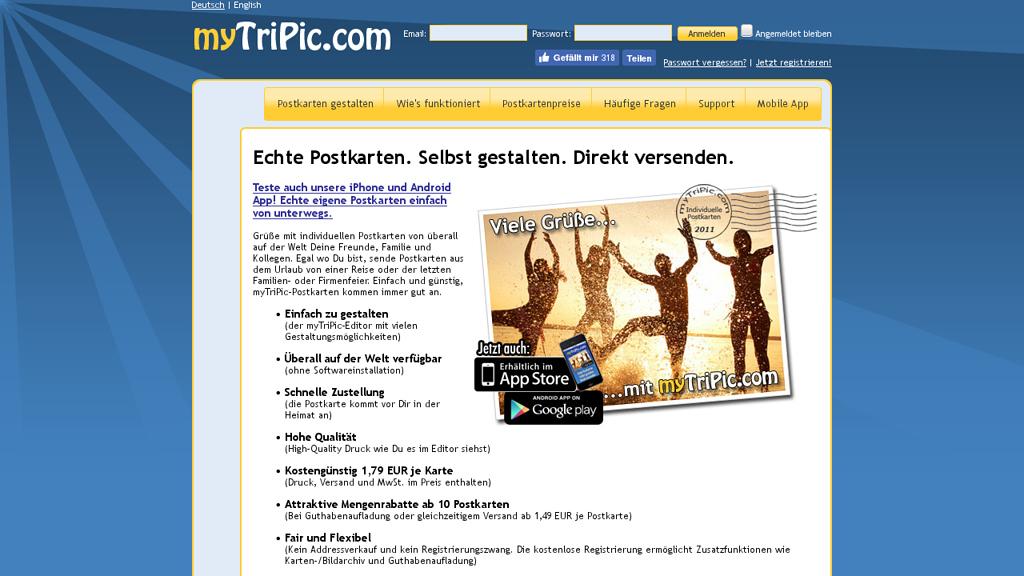 myTriPic Online-Shop