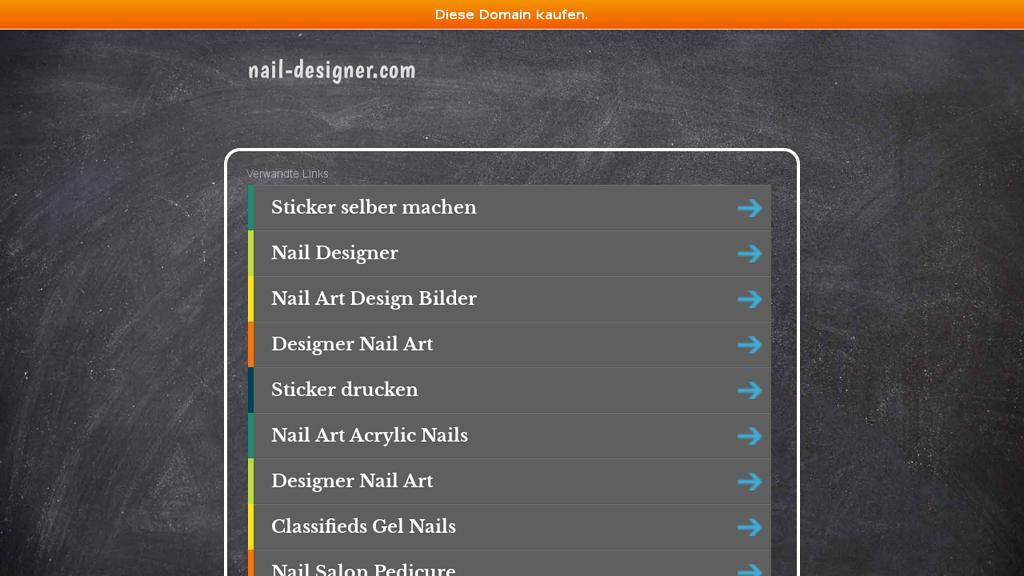 NailDesigner Online-Shop