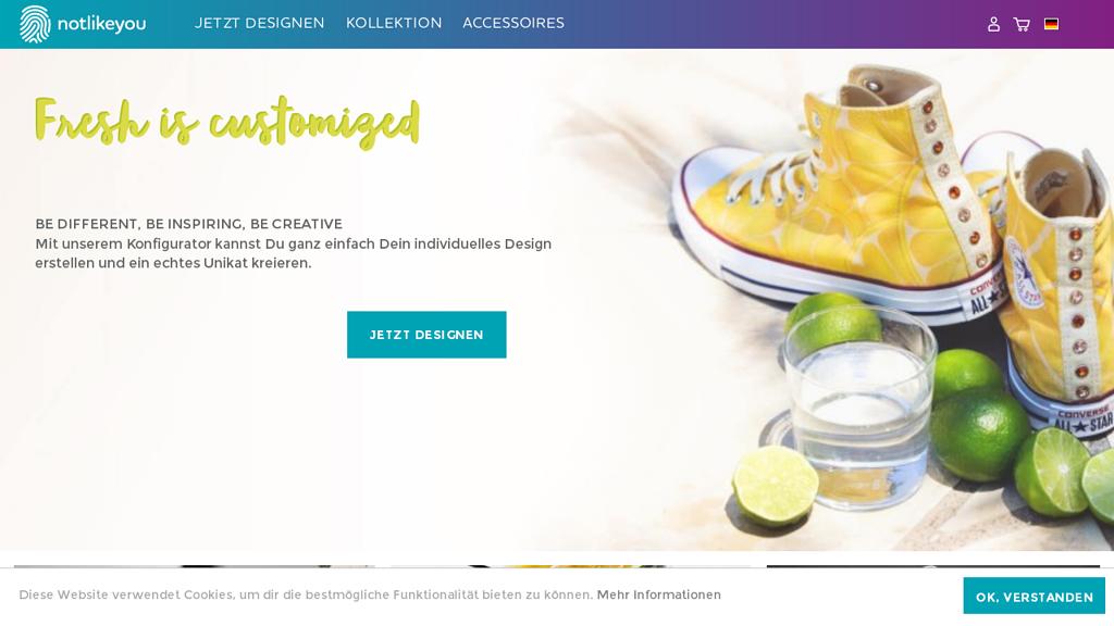 notlikeYou Online-Shop