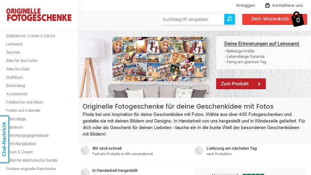 Originelle Fotogeschenke Store
