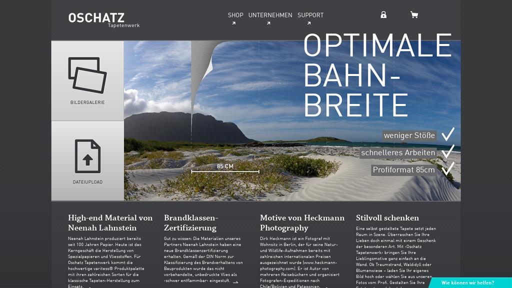Oschatz Tapetenwerk Online-Shop
