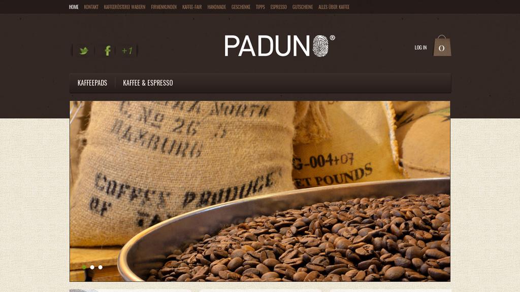 Paduno Online-Shop