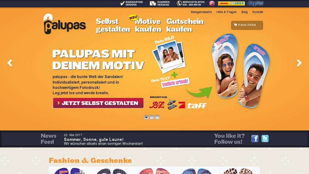 Palupas Online-Shop