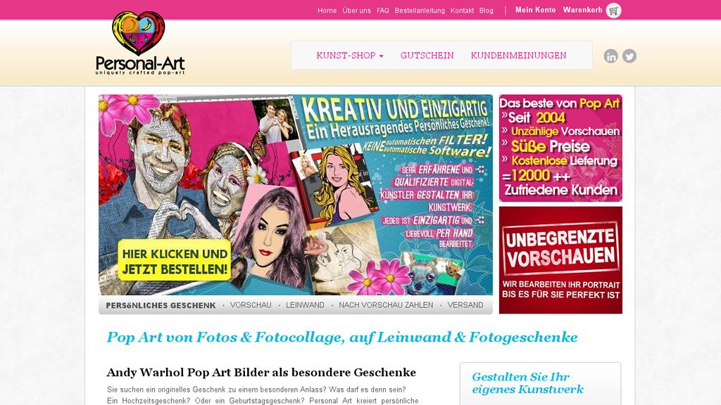 Personal Art Online-Shop