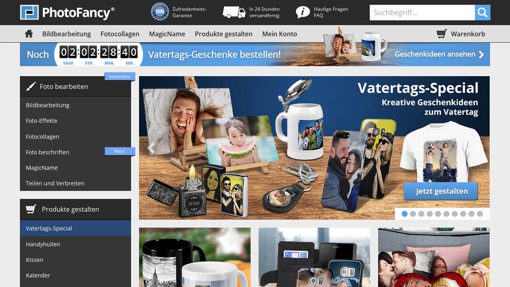 PhotoFancy Online-Shop