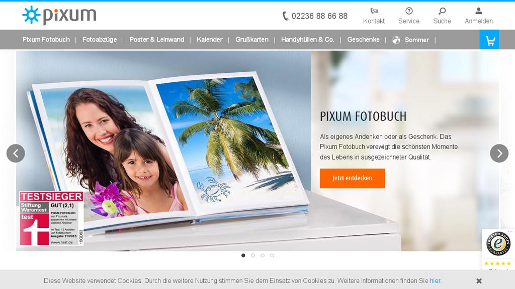 PIXUM Online-Shop