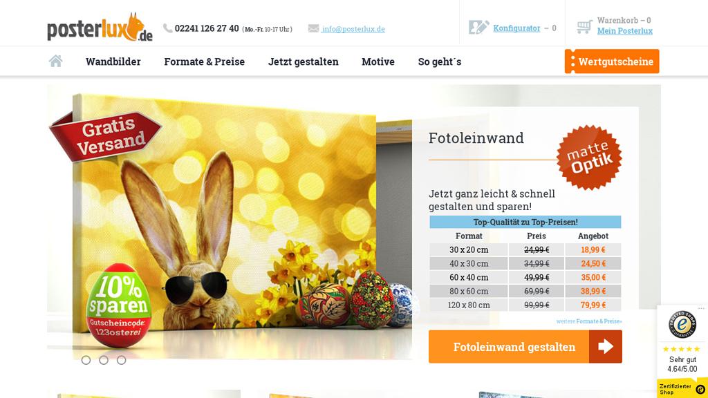 posterlux Online-Shop