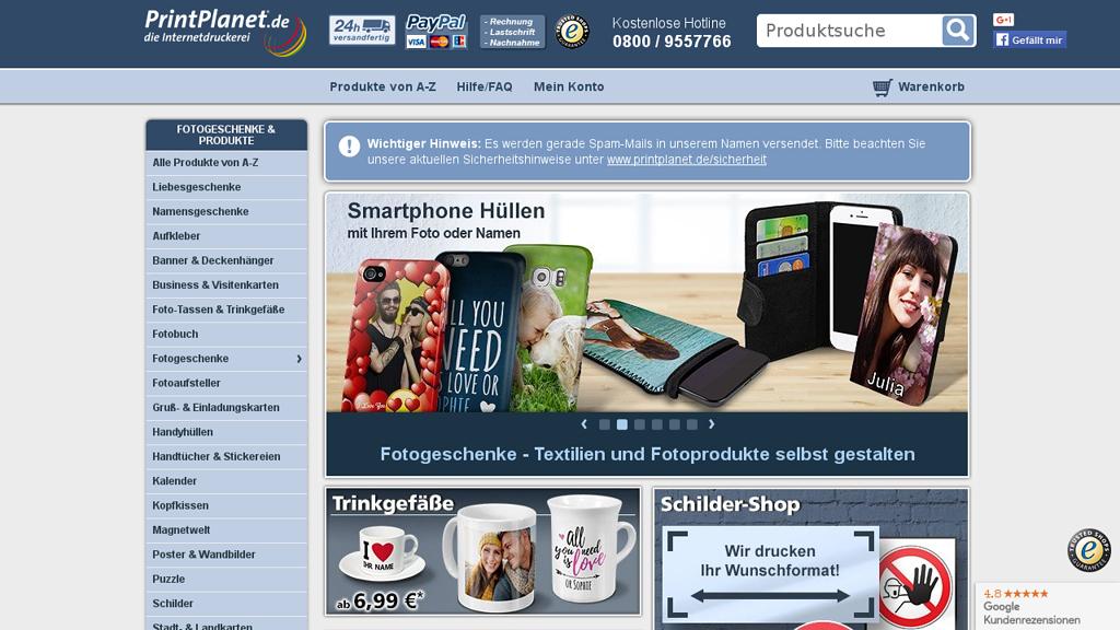 PrintPlanet.de Store