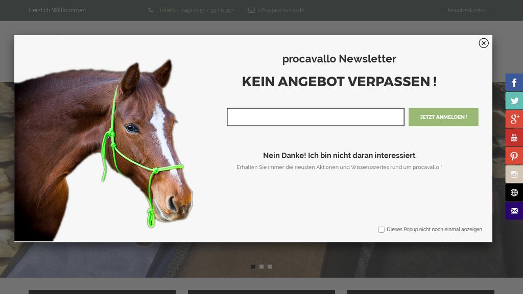 procavallo Online-Shop