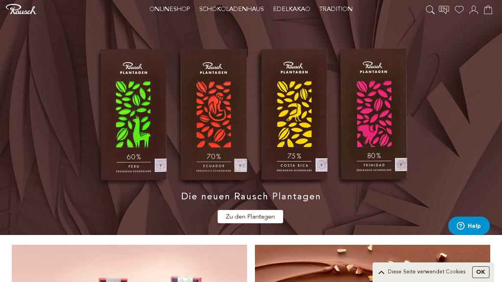 Rausch Online-Shop