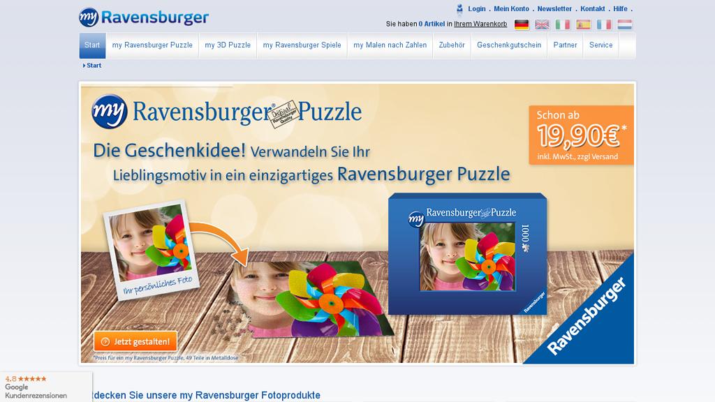 Ravensburger FotoPuzzle Store