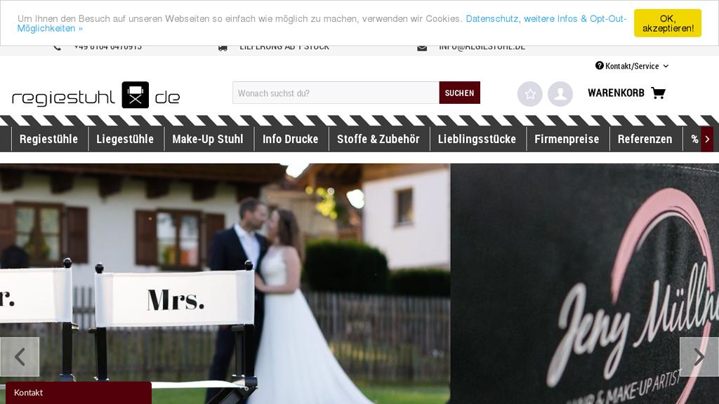 regiestuhl.de Online-Shop