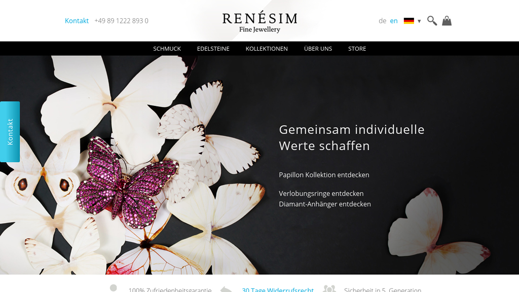 Renesim Online-Shop