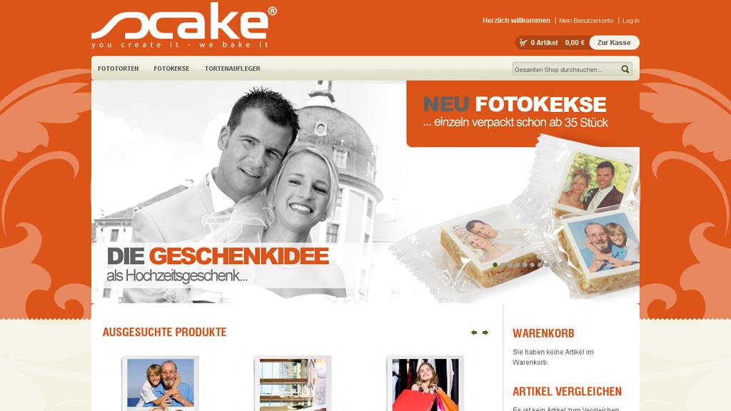 scake Online-Shop