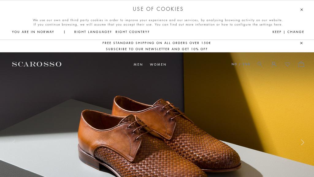 Scarosso Online-Shop