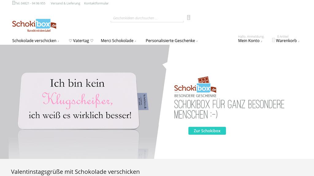 Schokibox.de Store