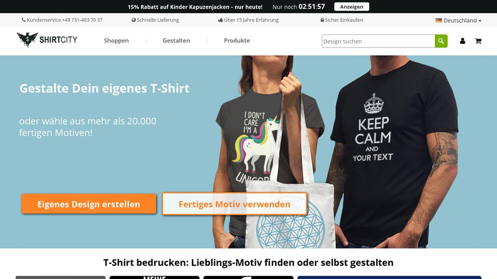 Shirtcity Online-Shop