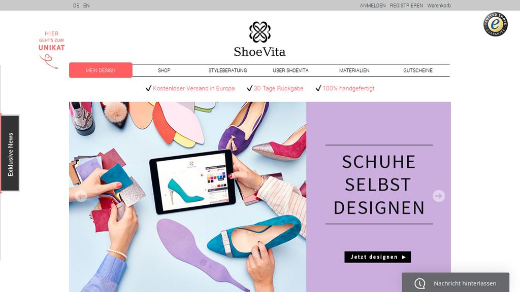 ShoeVita Online-Shop