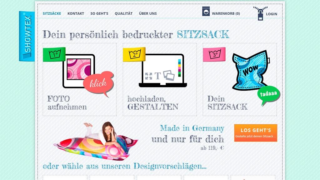 Showtex Online-Shop