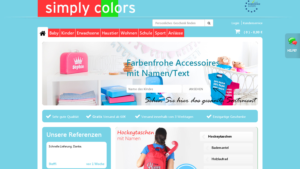 simply colors Store