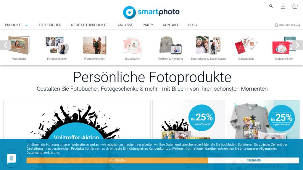 SmartPhoto Online-Shop