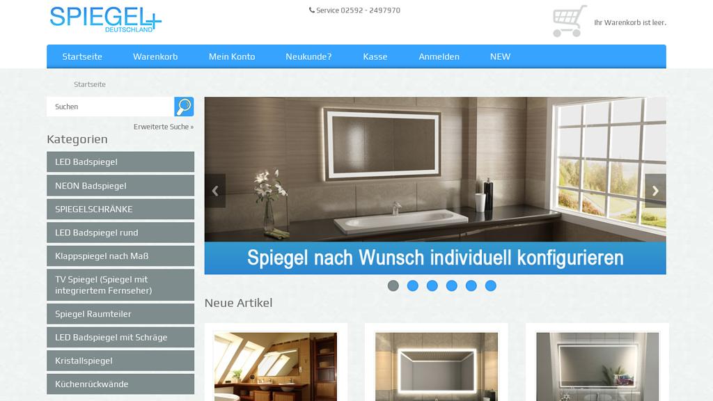 Spiegel Deutschland Store