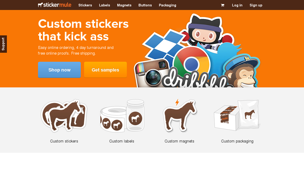 Stickermule Online-Shop