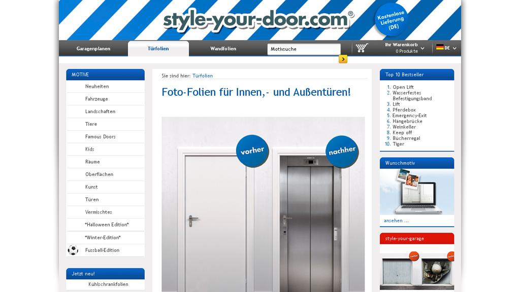 style-your-door.com Online-Shop