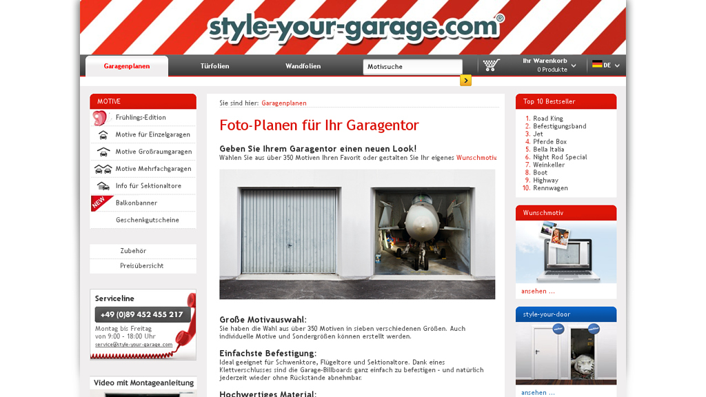 style-your-garage.com Store