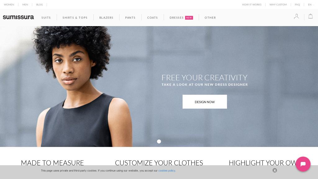 Sumissura Online-Shop