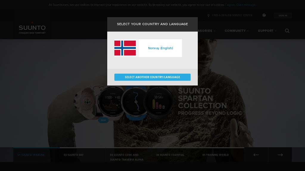 Suunto Online-Shop
